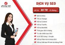 Phong Việt triển khai gói SEO tổng thể hỗ trợ doanh nghiệp SEO từ khoá lên TOP chuẩn bị cho chiến lược Marketing bền vững sau dịch Covid