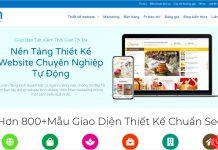 Phong việt ra mắt nền tảng thiết kế website tự động Renren, nền tảng hỗ trợ cho doanh nghiệp bán hàng hiệu quả